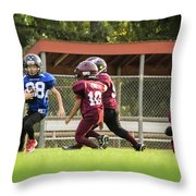Making His Move Throw Pillow
