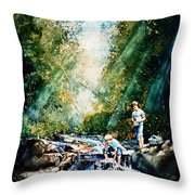 Making Memories Throw Pillow