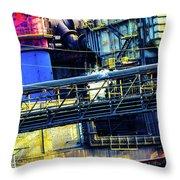 Making Steel Throw Pillow