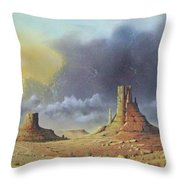 Making Up Time Throw Pillow