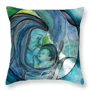 Makuahine  Throw Pillow