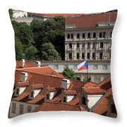 Mala Strana Throw Pillow