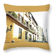 Malaga-2010-14 Throw Pillow