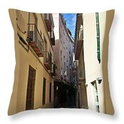 Malaga-2010-19 Throw Pillow