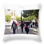 Malaga-2010-28 Throw Pillow