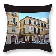 Malaga-2010-33 Throw Pillow