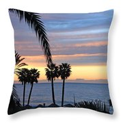 Malaga Sunrise Throw Pillow