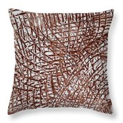 Malaika's Sleep - Tile Throw Pillow