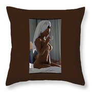 Male Enhancement And What Women Want Throw Pillow