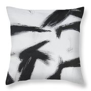 Male Front Throw Pillow