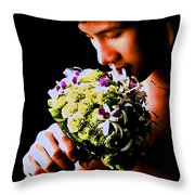 Male  Nude -  No.  190 Throw Pillow