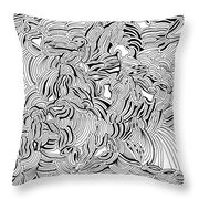 Malevolent Throw Pillow