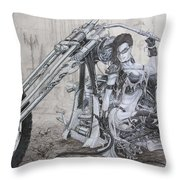 Malice Throw Pillow