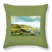 Malin Head Ireland Throw Pillow