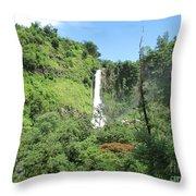 Malino, Waterfall Throw Pillow