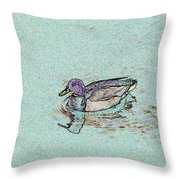 Mallards Edge Throw Pillow