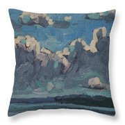 Mallorytown Landing Cumulus Throw Pillow