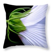 Mallow. . . Behind The Scenes Throw Pillow