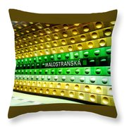 Malostranska Throw Pillow