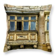 Maltase Style Windows  Throw Pillow