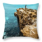 Maltese Dream Throw Pillow