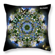 Malus Snowdrift Throw Pillow
