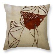 Mama 2 - Tile Throw Pillow