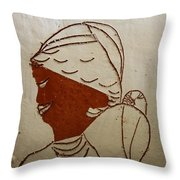 Mama 5 - Tile Throw Pillow