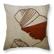 Mama 6 - Tile Throw Pillow