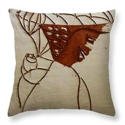 Mama 7 - Tile Throw Pillow