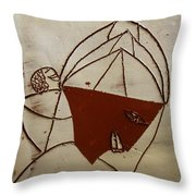 Mama 8 - Tile Throw Pillow