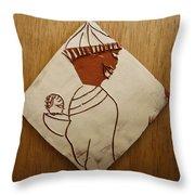 Mama 9 - Tile Throw Pillow