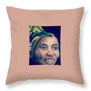 Mama Afrika Throw Pillow