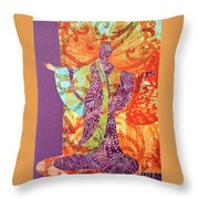 Mama Butterfly Throw Pillow