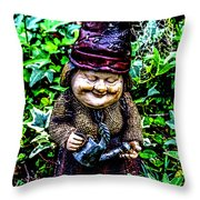 Mama Gnome Throw Pillow