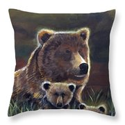 Mammas Warmth Throw Pillow