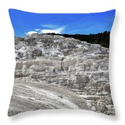 Mammoth Hot Springs2 Throw Pillow