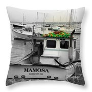 Mamosa Throw Pillow
