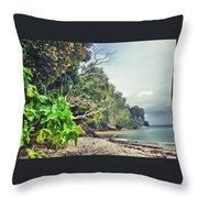 Mamutik Island Throw Pillow