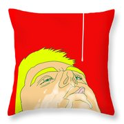 Man Milk Throw Pillow