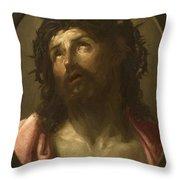 Man Of Sorrows Throw Pillow