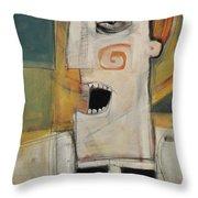 Man Of The Cloth Throw Pillow