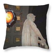 Man Of Union Throw Pillow