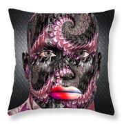 Studio Man Render 21 Throw Pillow
