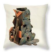 Man Vs. Nature Throw Pillow