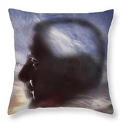 Man With Alzheimers Disease Throw Pillow