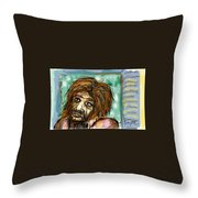 Man Without Hope Throw Pillow