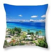 Mana Island Throw Pillow