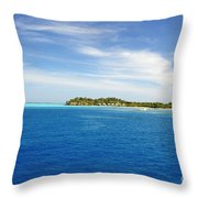Mana Island Throw Pillow