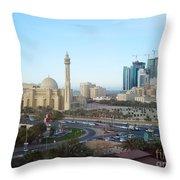 Manama Bahrain Throw Pillow